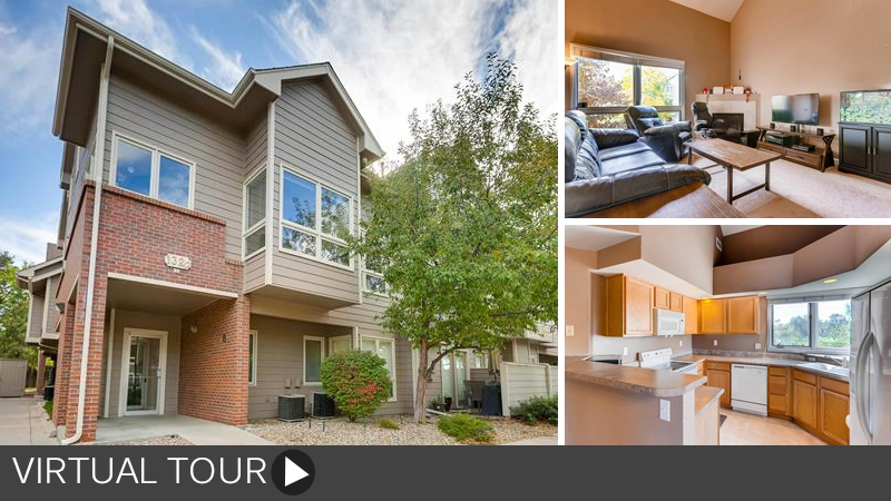 Sold! Spacious Vaulted Light-Filled 2-Story Condo!