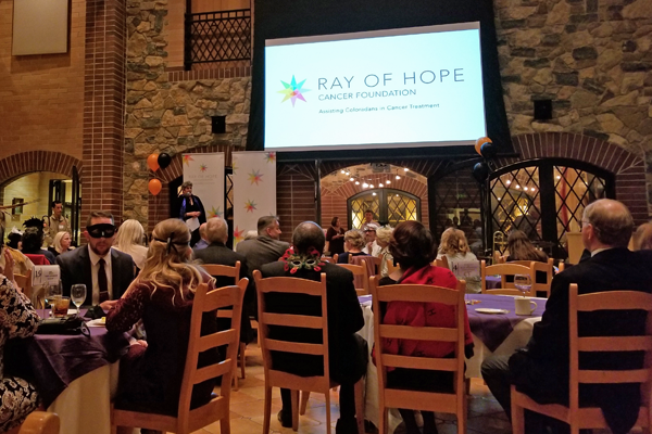 Masquerade for the Ray of Hope Cancer Foundation