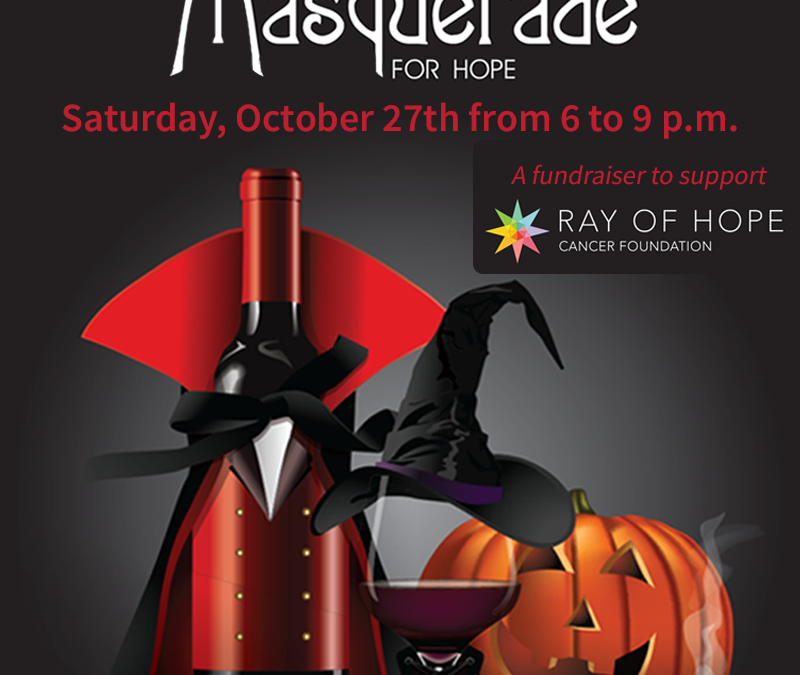 Join us at the Masquerade for Hope!