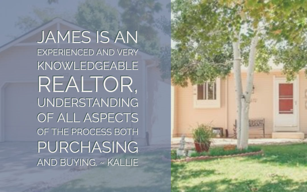 Kallie: James is the most professional realtor I've ever known.