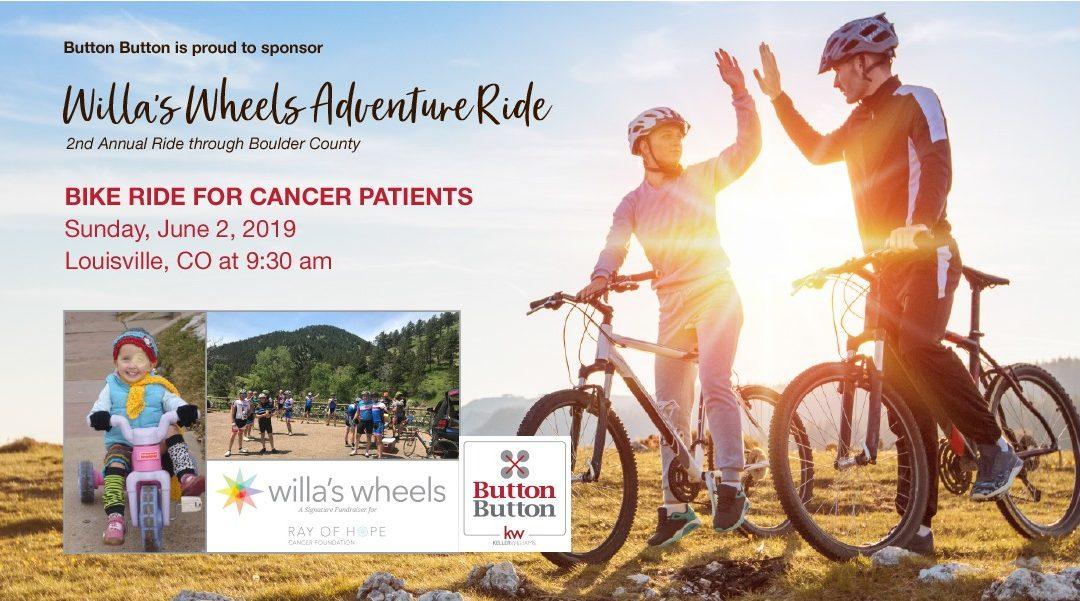 Willa's Wheels summer ride!