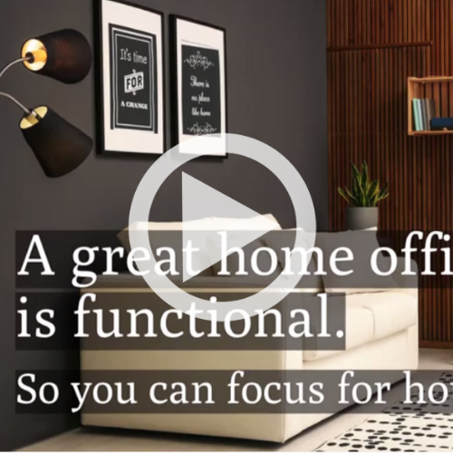 How to design a great home office.