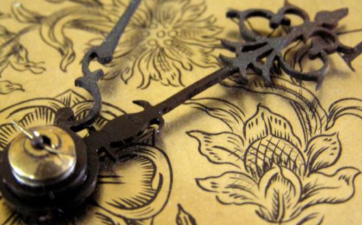 Victorian style clock hand