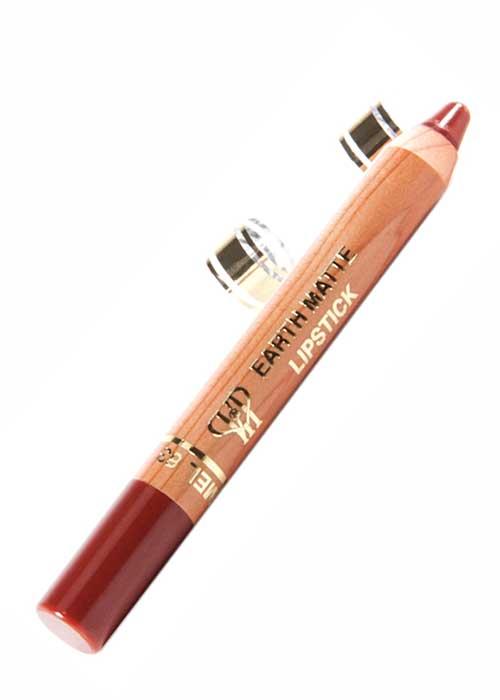 VIP Cosmetics - Lipstick Pencil Earth Matte Foxy Caramel L63