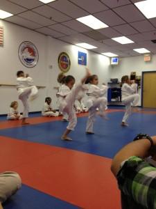 Addison kicking