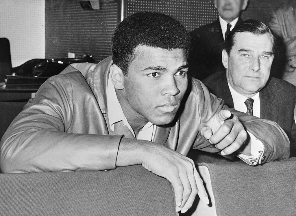 Muhammad Ali in 1966, Source: The Dutch National Archives