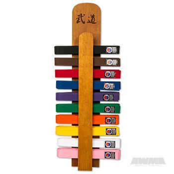 Karate Belt Display