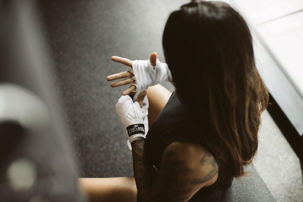 at home martial arts training