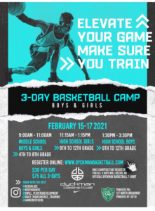 3-Day Basketball Camp