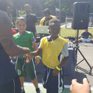 "2nd Community youth game "" NYPD vs FDNY"" Community Give Back Game"