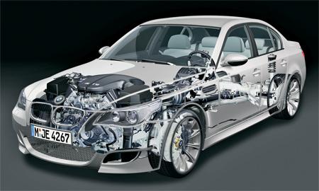 BMW M5 E60 S85B50A