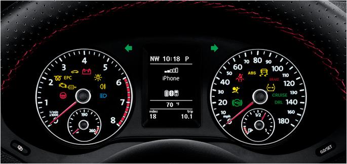 VW Dash Service