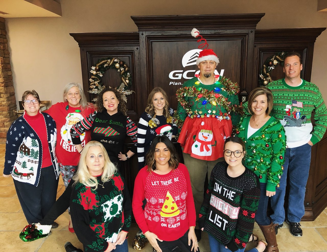 GCON Celebrates National Ugly Sweater Day With A Contest