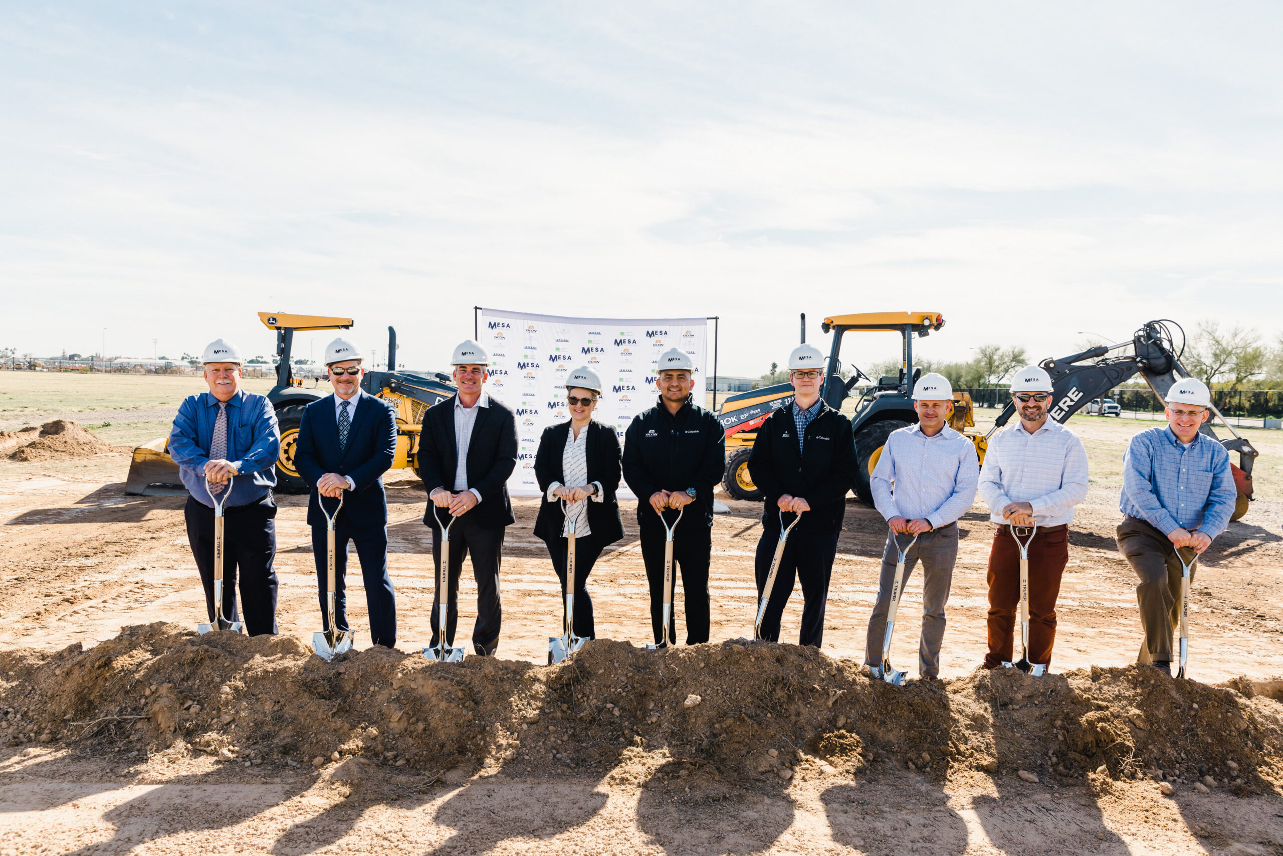 Falcon Field Hangars: Groundbreaking!