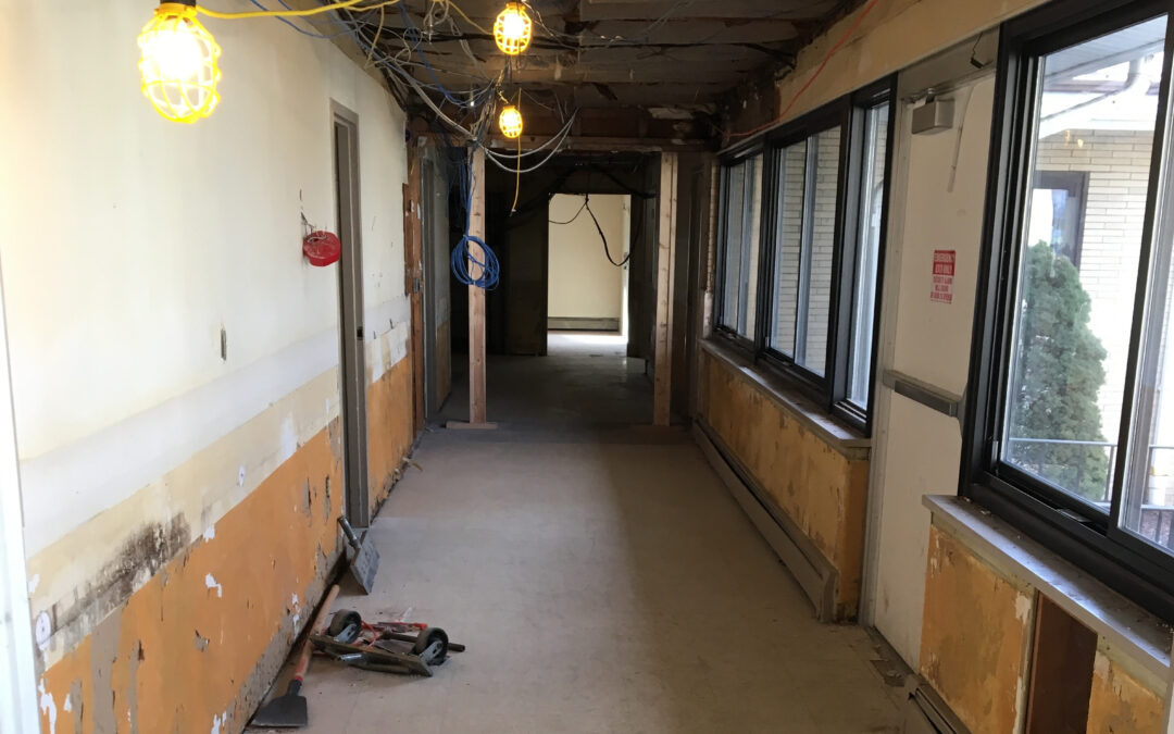 Renovation Project Underway at New Castle Location