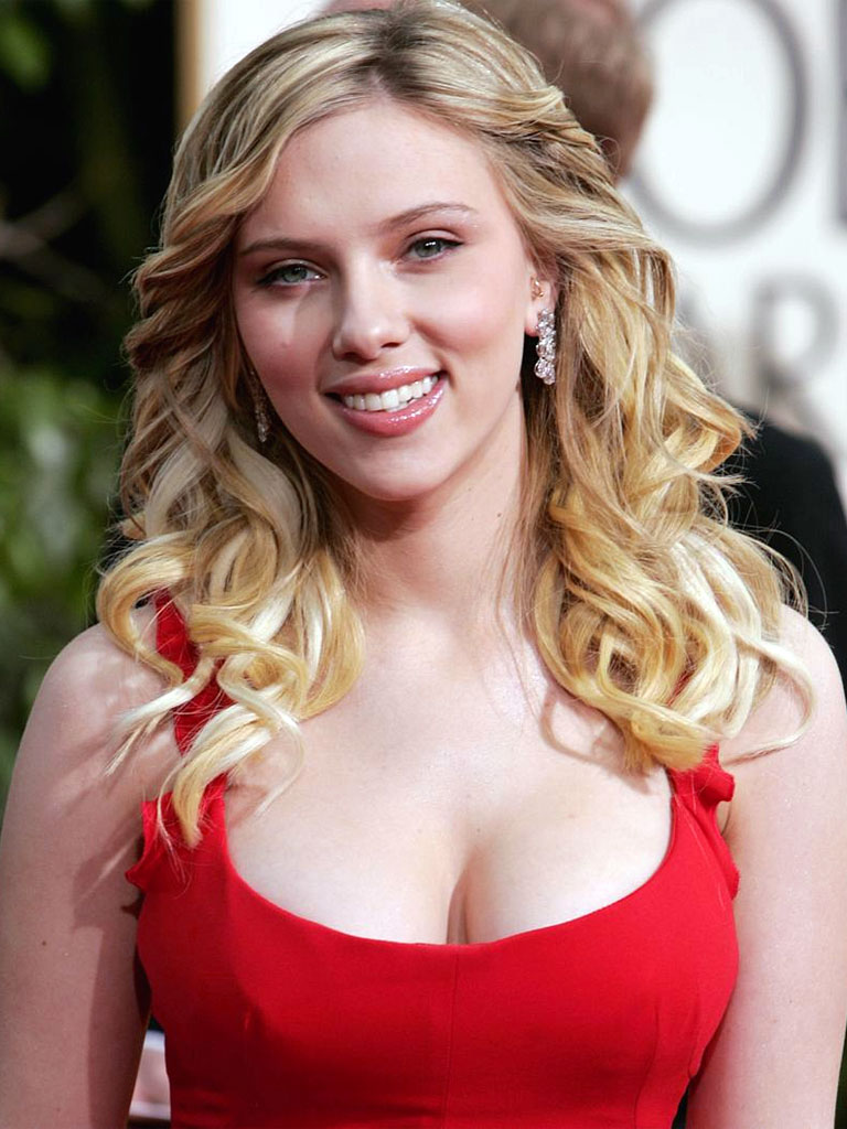 Scarlett Johansson Boobs Size