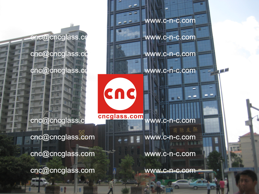 EVA FILM safety laminated glass applied in buildings (1)