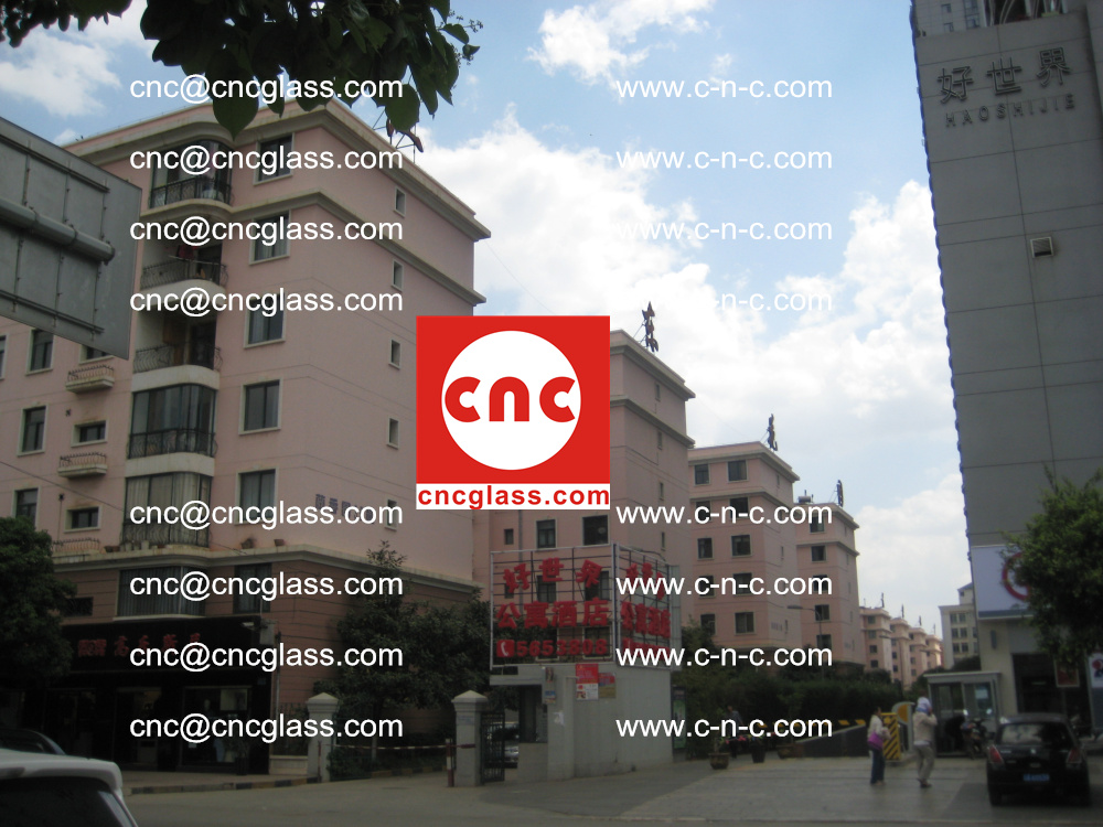 EVA FILM safety laminated glass applied in buildings (2)
