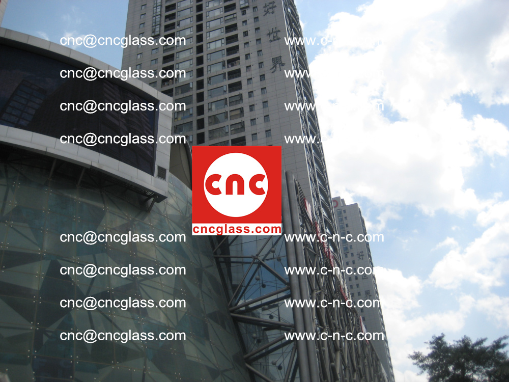 EVA FILM safety laminated glass applied in buildings (5)