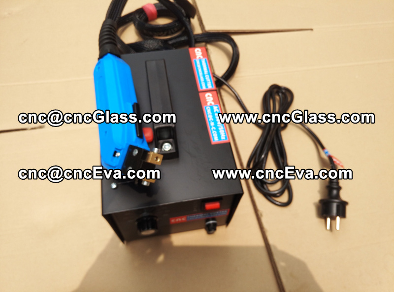 HEAT TRIMMER for laminated glass edges Hot Knife, Thermal Cutter (3)