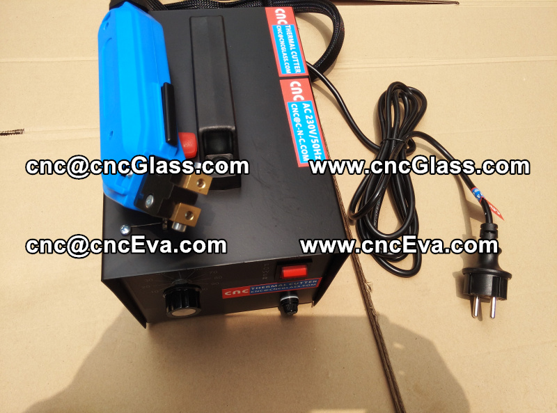 HEAT TRIMMER for laminated glass edges Hot Knife, Thermal Cutter (4)