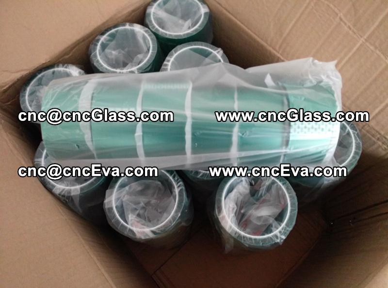 Oven green tape Green Vacuum Tape Lami green tape (2)