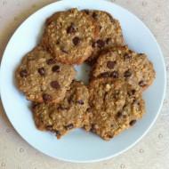 Vegan Gluten Free Oatmeal Choc Chip Cookies