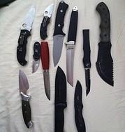 So many types of Knives