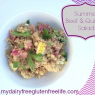 Summer Beet and Quinoa Salad Recipe