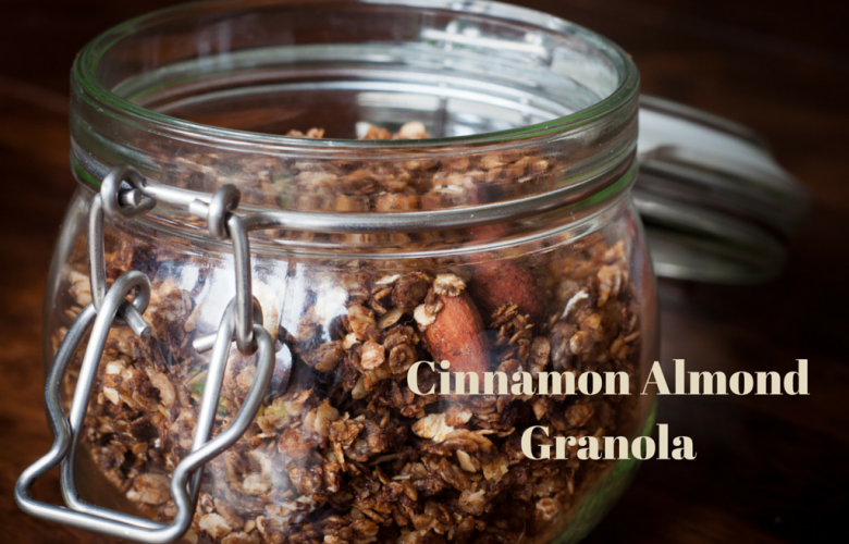Cinnamon Almond Granola Recipe