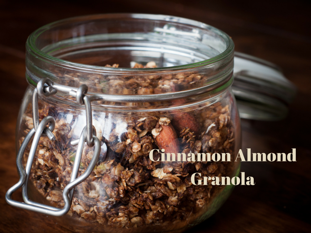 Cinnamon Almond Granola
