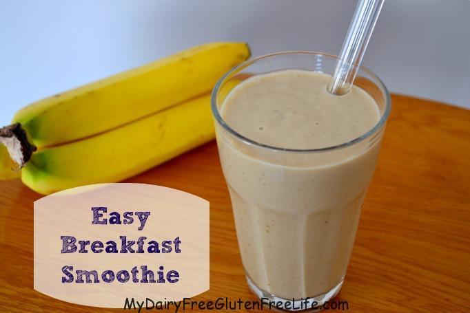 DFGF Easy Breakfast Smoothie