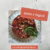 Easy One Pot Recipes:  pasta e fagioli