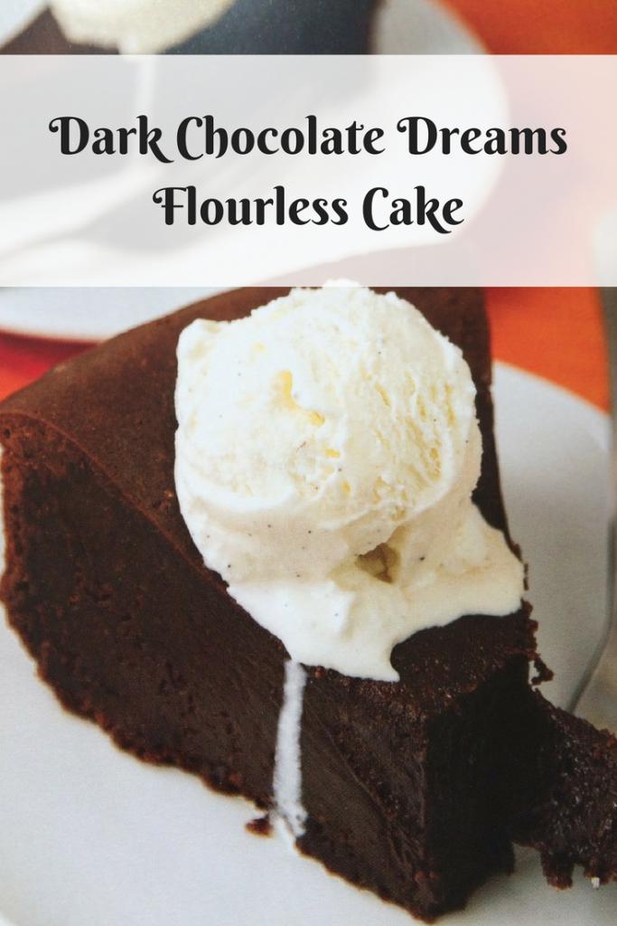 Dark Chocolate Dreams Flourless Cake