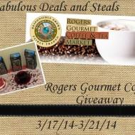 Rogers Gourmet Coffee Giveaway