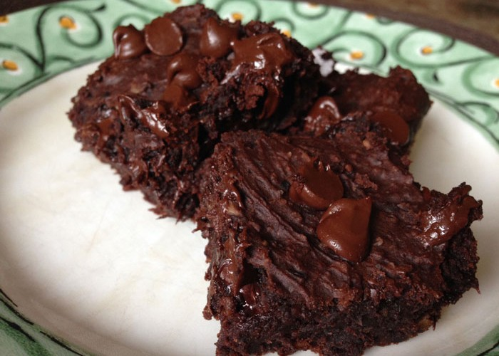 Vegan Flourless Black Bean Brownies Recipe