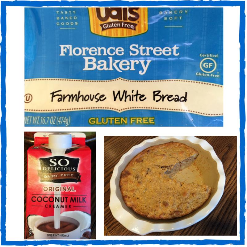 Dairy & Gluten Free Pumpkin Bread Pudding Recipe