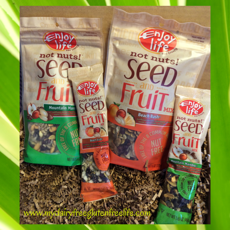 Seed and Fruit Mixes from Enjoy Life