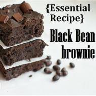 Flourless Black Bean Brownie Recipe