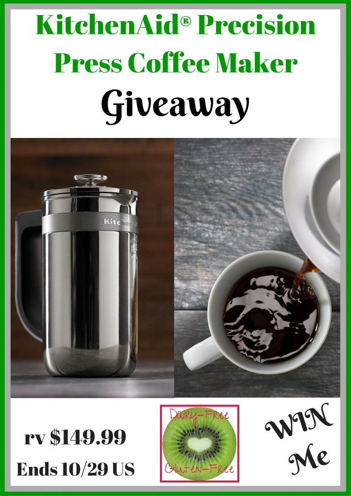 KitchenAid® Precision Press Coffee Maker Giveaway