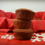 These Dairy, Vegan & Gluten Free Gingerbread Muffins are delicious and perfect for Christmas morning or a Christmas eve snack.