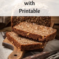 Safe Wheat Alternatives with Printable