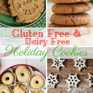 Holiday Cookies Gluten & Dairy Free