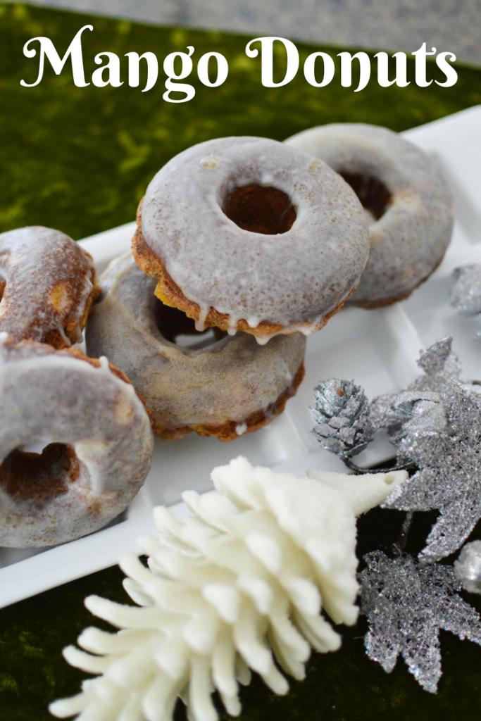 Exotic Mango Donuts