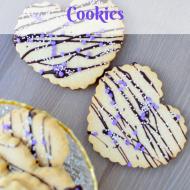 Valentines Shortbread Cookies, Dairy & Gluten Free, Vegan