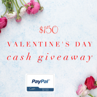 $150 Valentine's Day Cash Giveaway