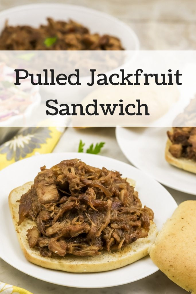 Pulled Jackfruit Sandwich