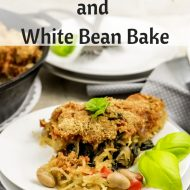 Spaghetti Squash and White Bean Bake