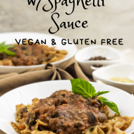 BowTie Pasta with Spaghetti Sauce