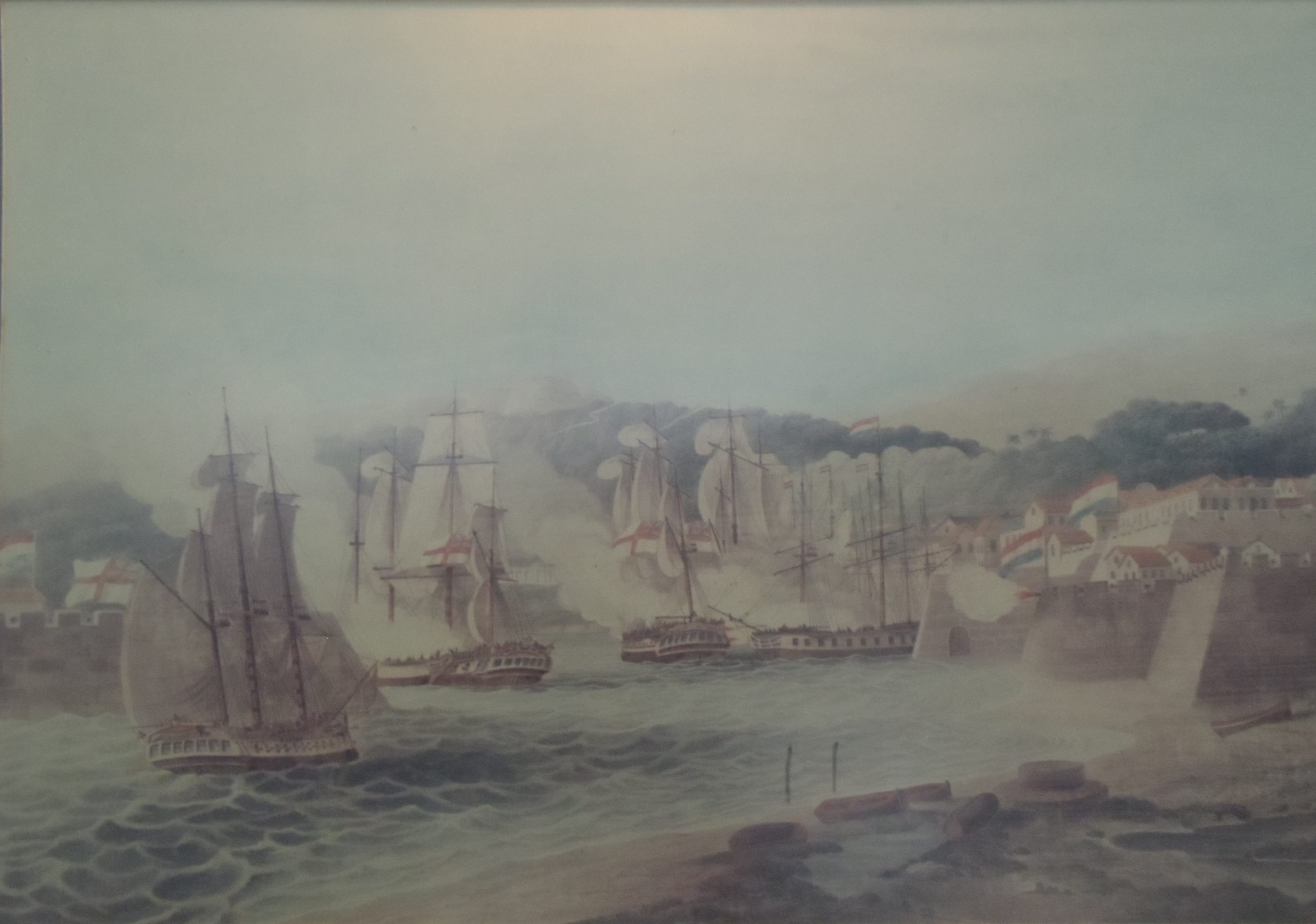 British Attack on Curacao